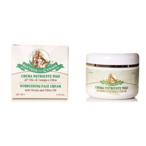 Nourishing Face Cream with Hemp & Olive Oil