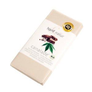 Hemp Milk Chocolate Canalade 100g – Certified Organic