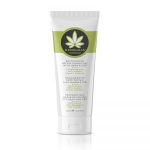 Restorative Bath & Shower Gel With Hemp & CBD 200ml