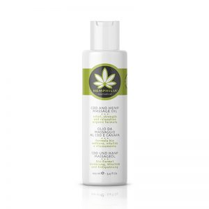 CBD & Hemp Massage Oil 100ml